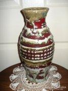 Retro iparművészeti kerámia váza nagyméretű