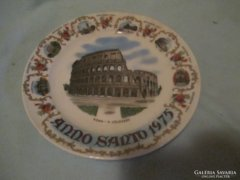 1 db fal tányér  Római Colosseum