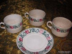 Fischer kerámia csészék