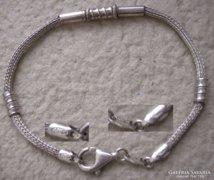 925 ezüst karkötő mesterjegy, sorszámozott