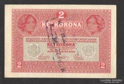 20 korona 1917.  (Felülbélyegzett)!!!