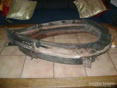 Antik kumet hám, ló szerszám - paraszti, népi dekorációnak