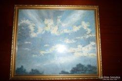 Raksányi Lajos: Égbolt, felhők