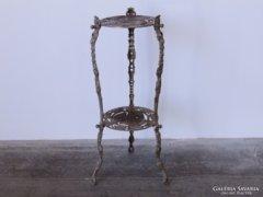 0C742 Antik szecessziós vas asztal lerakó asztal
