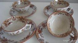 Antik Sarreguemines /1875-1900 között/ teás csésze aljjal