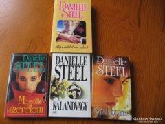 Danielle Steel könyvcsomag 4 db-os