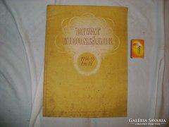 Divat újdonságok - 1954-55