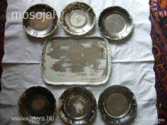 Eredeti ALTWIEN porcelán készlet 7 db-os BÉCS