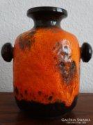 Retro kerámia váza, 60-as 70-es évek, Carstens, W.Germany