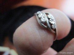 Nagyon régi ezüst gyűrű Belső átméret :16 mm