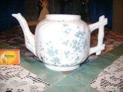 Antik porcelán teakiöntő -  csőrénél sérült