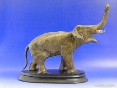 6992 Antik bécsi bronz elefánt XIX. század