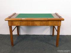 0C809 Antik biedermeier dupla férfi íróasztal