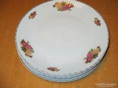 5 db Veritable anyagában mintás hullámos  lapos tányér