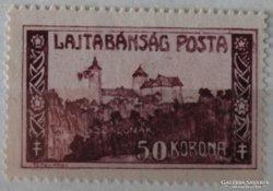 1921. Lajtabánság sorozat 50 Kr. különleges ritkasága!