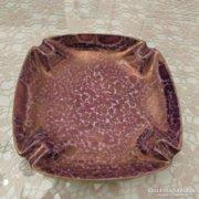 Hollóházi porcelán lüszteres (retro) hamutartó
