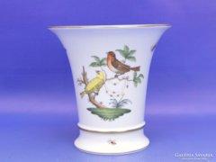0C955 Herendi Rothschild mintás porcelán váza