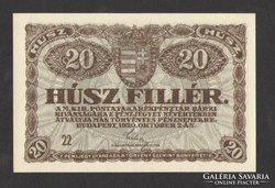 20 fillér 1920.  UNC !!!