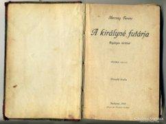 Herczeg Ferenc: A királyné futárja 1920 könyv