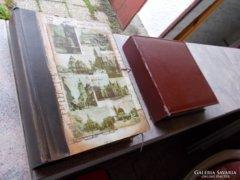 Pécsi képeslapok albumok, 300 db régi, és 500 db új