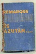 Erich Maria Remarque - És azután 1931 könyv