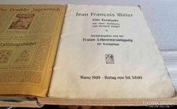 Jean Francois Millet: Eine Kunftgabe Mainz 1909 német nyelvű könyv