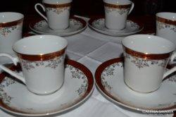 Csehszlovák kávéskészlet