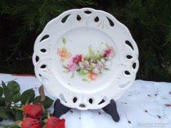 AKCIÓ !!!!!!!! Antik orchideás tál ,tányér