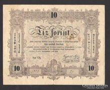 10 forint 1848.  VF+!!  NAGYON SZÉP!!