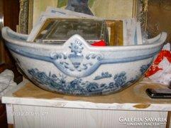 Szep antik porcelan orias asztalkozep