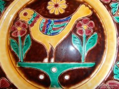 Steinbach Sándor fali tányérpár