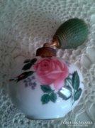 Régi, jelzett porcelán parfümös