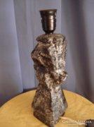 Iparművész kerámia asztali lámpa