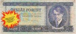 500 Forint reklámpénz