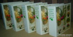 Szobanövények Á-tól Z-ig (teljes sorozat, 5 kötetben)