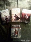 Assasin'S CREED sorozat három kötete