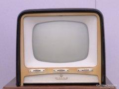 0C868 Antik faházas TISZA televízió készülék
