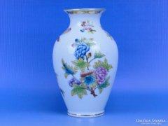 0D086 Régi herendi Viktória porcelán váza