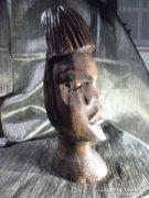 Fafej, szépen megmunkált fából készült szobor