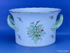 0D207 Herendi porcelán hecsedlis óriási kaspó
