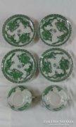 Számomora ritka kínai porcelán zöld sárkány - EP