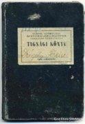 Közalkalmazotti Tagsági Könyv 1945