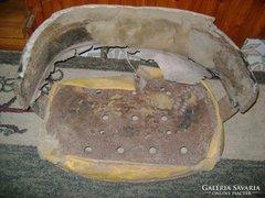 Régi lovasfogat ülés váz