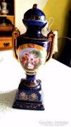 Régi, kandalló váza, urna váza