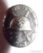 Német II. világháborús Sebesülési Jelvény Ezüst fokozat