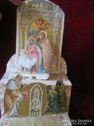 Karácsony Betlehem KUGLER GERBEAUD dísz doboz 1928