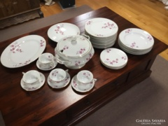 Rosenthal antik étkészlet, 1940-es, gyönyörű, 6 személyes, és 4 teás