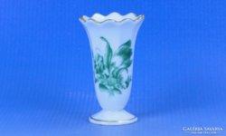 0D385 Virágmintás herendi porcelán ibolyaváza 1943