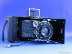 0D805 Antik ZEISS IKON fényképezőgép bőr tokjában