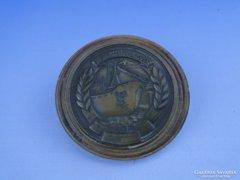 0D692 MAGYAR HAJÓ ÉS DARUGYÁR 1835 bronzplakett